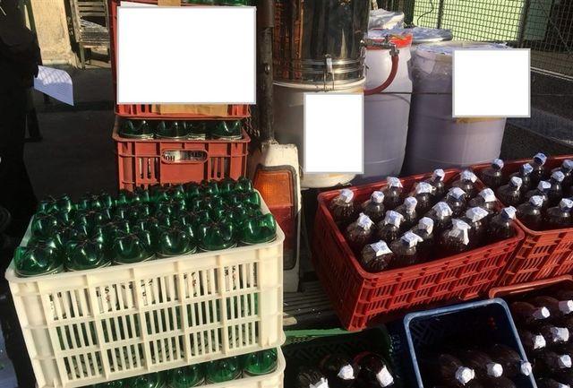 حراجی مشروبات الکلی در ورامین!
