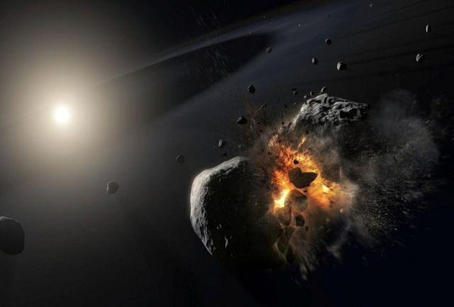 گذر سیارک غول پیکر از کنار زمین