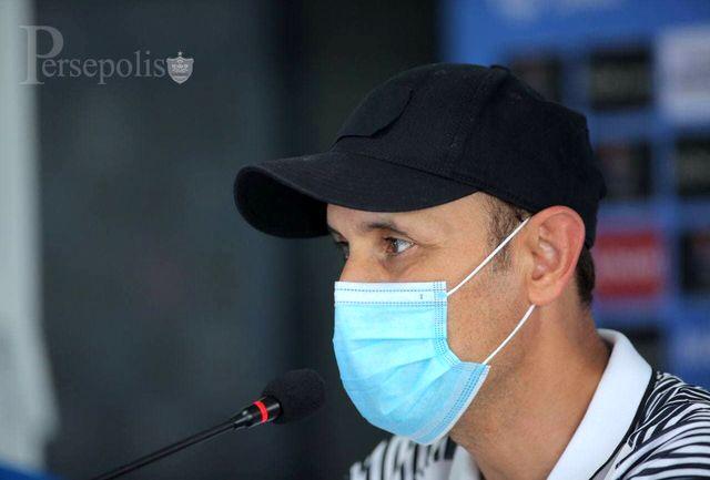 گلمحمدی: امیدوارم بازی با استقلال جذاب شود/ میتوانیم به 3 امتیاز دست پیدا کنیم