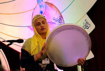 اجرا های روز دوم جشنواره دف نوای رحمت