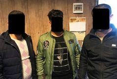 دستگیر ی 3 تن از اراذل و اوباش در رشت