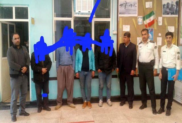 دستگیری چهار نفر غارتگر میراث فرهنگی در دهگلان