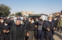 پیکر رئیس فقید دادگاه انقلاب تهران به خاک سپرده شد