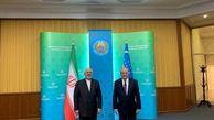 ظریف در تاشکند با همتای ازبکستانی خود دیدار کرد