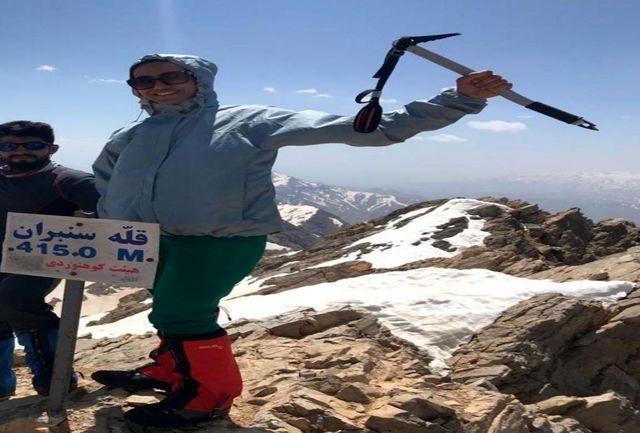 مرگ  یک بانوی کوهنوردبا سقوط از کول جنون اشترانکوه