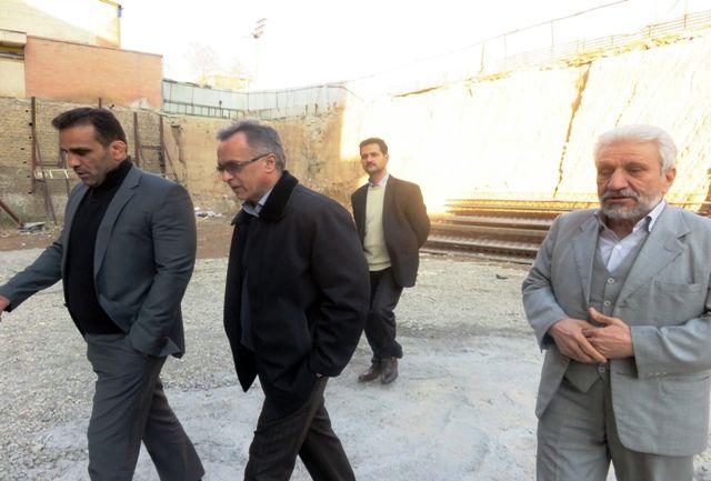 بازدید معاون توسعه منابع و سرمایه انسانی اداره کل ورزش و جوانان تهران از جنوب غرب