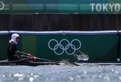 صعود نازنین ملایی به فینال B رویینگ المپیک