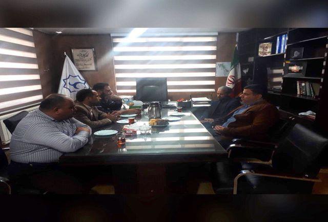 جلسه بررسی مشکلات ناوگان حمل و نقل عمومی روستای گلحصار برگزار شد