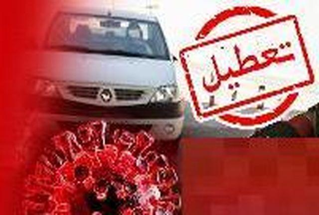 تعطیلی واحد اجرائیات پلیس راهنمایی و رانندگی گیلان