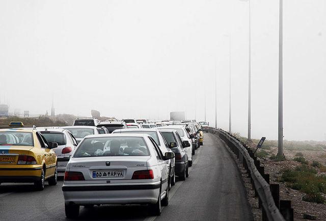 تردد 2 میلیون و 900 هزار خودرو از جاده های استان سمنان در تعطیلات عید فطر