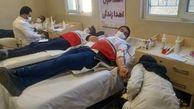 اهدا خون اعضا داوطلب خانه های هلال ابرکوه