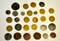 18 قطعه سکه تاریخی مربوط به دوران ساسانیان کشف شد