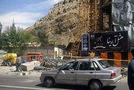 تخریب بخشی از هتل آرینا در شمیرانات