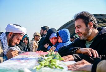 تشییع پیکر شهدای حادثه تروریستی زاهدان