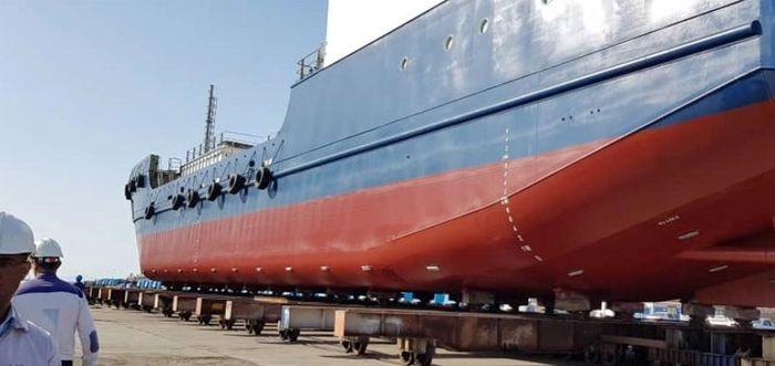 ساخت اولین کشتی یخچال دار کشور در مجتمع کشتی سازی و صنایع فراساحل ایران/ صدورگواهینامه دریاروی پس از انجام آزمون های دریانوردی و تعادلی