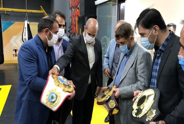بازدید مدیر گروه اقتصادی دفتر مقام معظم رهبری از مراحل توسعه و تجهیز مجموعه ورزشی شهید معتمدی