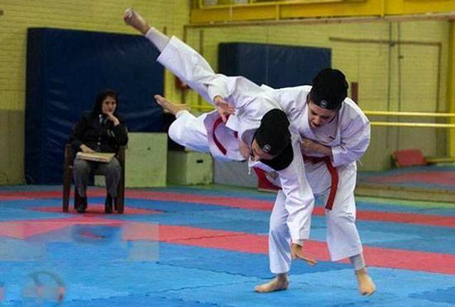 تیم کاراته دختران سمنان مقام سوم را از آن خود کرد