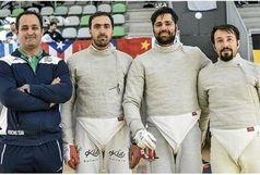صعود تاریخی تیم ملی سابر ایران به رده چهارم جهان