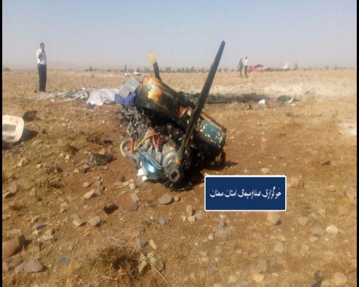 آخرین جزییات حادثه سقوط هواپیما در ایوانکی گرمسار