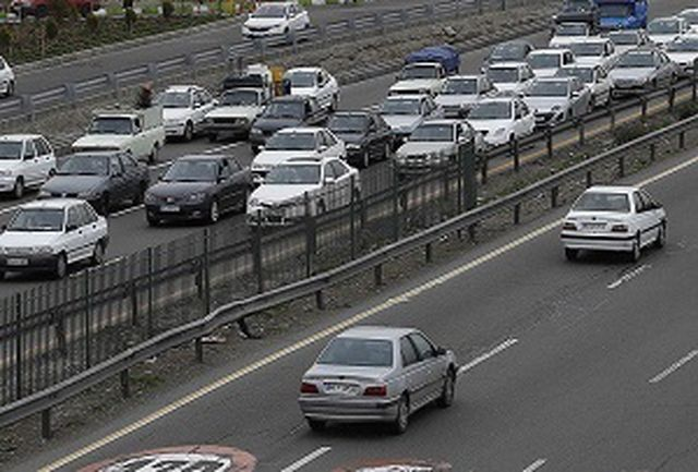 آخرین وضعیت ترافیک معابر بزرگراهی پایتخت