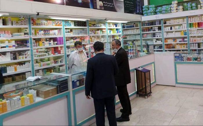 بازدید میدانی استاندار خراسانرضوی از برخی داروخانهها و خیابانهای شهر مشهد