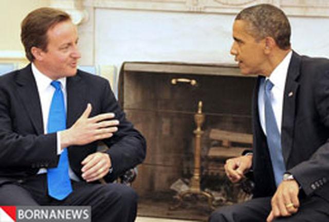 رایزنی کامرون و اوباما درباره مصر بدون مبارک