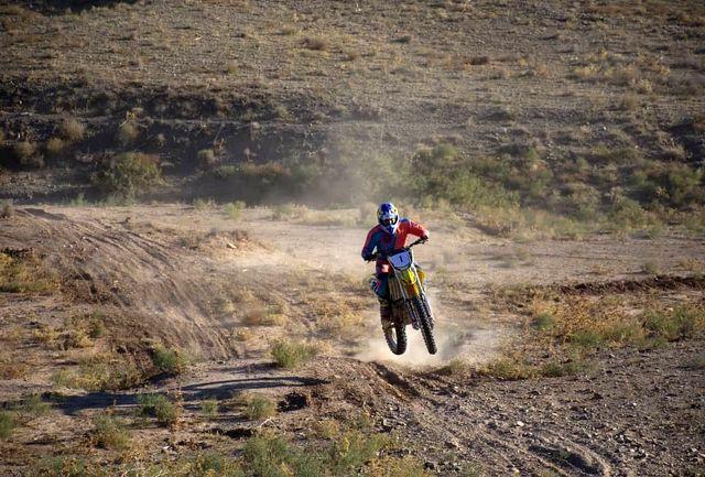 پایان مسابقات موتور سواری اندرو کراس در نیشابور