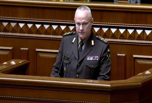 فرمانده ارشد اوکراین، روسیه را متهم به اتخاذ سیاست تهاجمی کرد