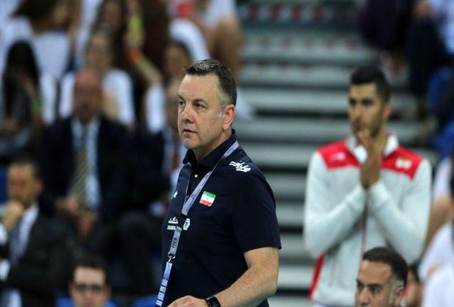 کولاکوویچ: همه از تیم ملی والیبال انتظار قهرمانی آسیا دارند