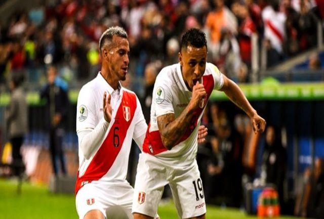 پرو با غلبه بر مدافع عنوان قهرمانی حریف برزیل شد