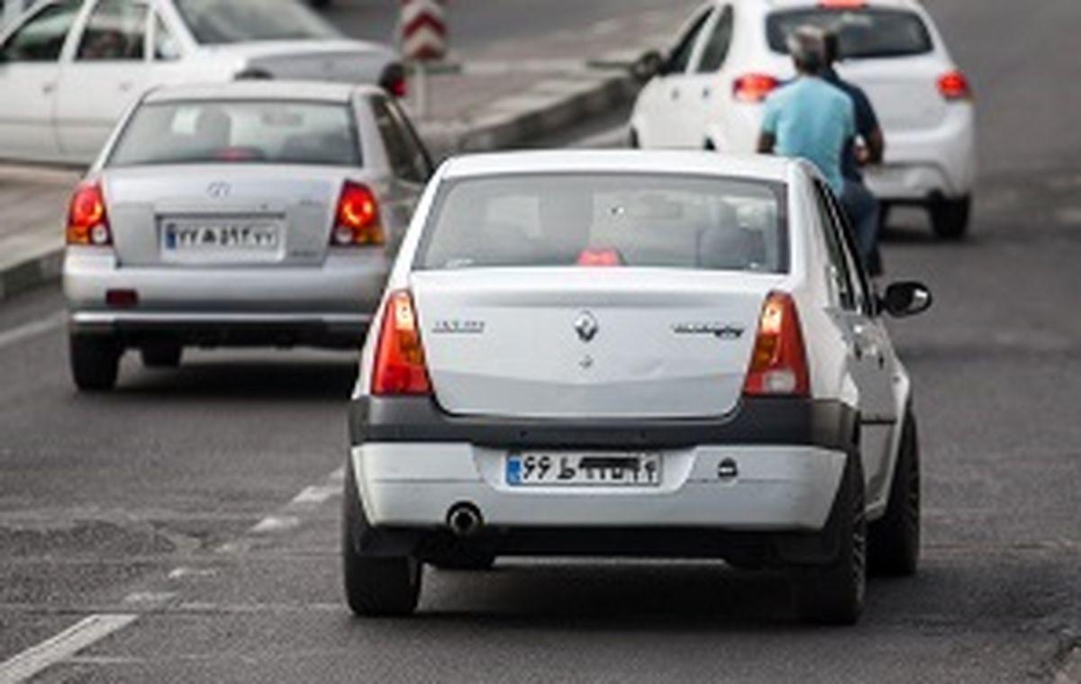 برخورد قاطعانه با مخدوش کنندگان پلاک خودرو