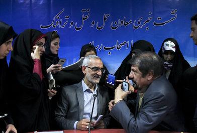 نشست خبری معاون حمل ونقل شهرداری تهران