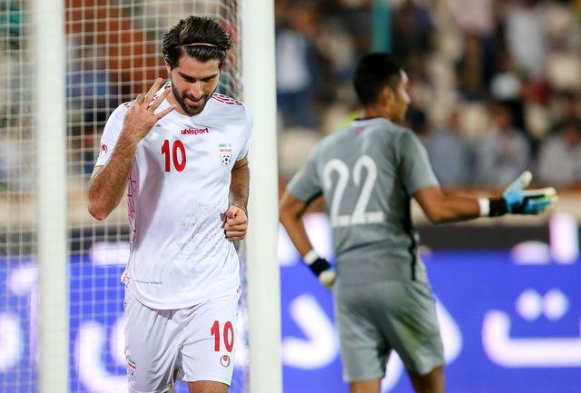 انصاریفرد: هدف بازیکنان تیم ملی موفقیت و صعود به جام جهانی است