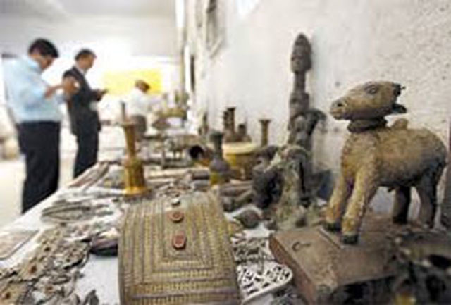 کشف عتیقههای قاجاریه در کشور