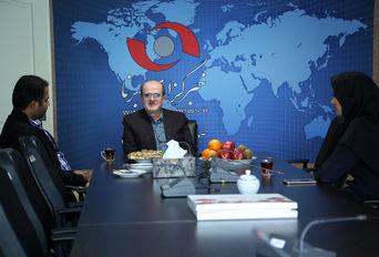حضور مهرداد لاهوتی، نماینده گیلان در خبرگزاری برنا