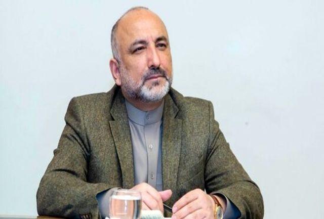وزیر خارجه افغانستان کرونا گرفت