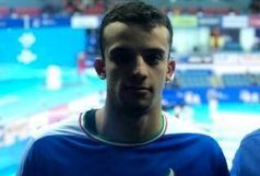 پایان کار غلامپور در ماده 50 متر آزاد مسابقات جهانی