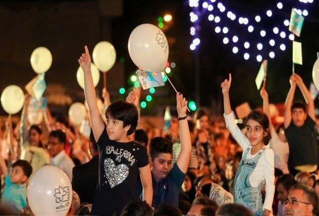 اجرای 3 روزه ویژه برنامه در شهر بنت استان سیستان و بلوچستان همزمان با جشنواره کودک