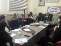 بیست وپنجمین کمیته تخصصی ستادساماندهی امورجوانان مشگین شهر برگزار شد