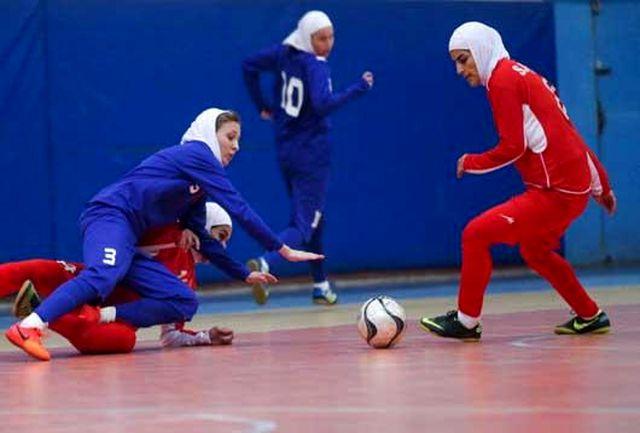 برگزاری چهاردهمین دوره مسابقات لیگ دسته سه فوتسال بانوان