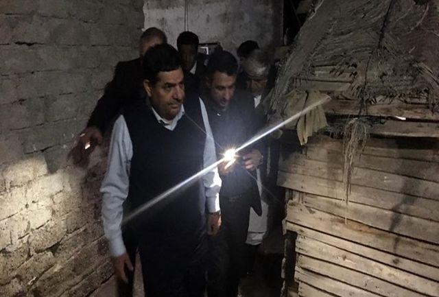 بازدید رئیس ستاد اجرایی امام از نقاط سیلزده کنارک