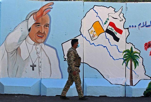 بسته شدن ورودی های استان اربیل عراق برای سفر پاپ