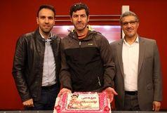 کیک تولد ویژه برای مربی پرسپولیس