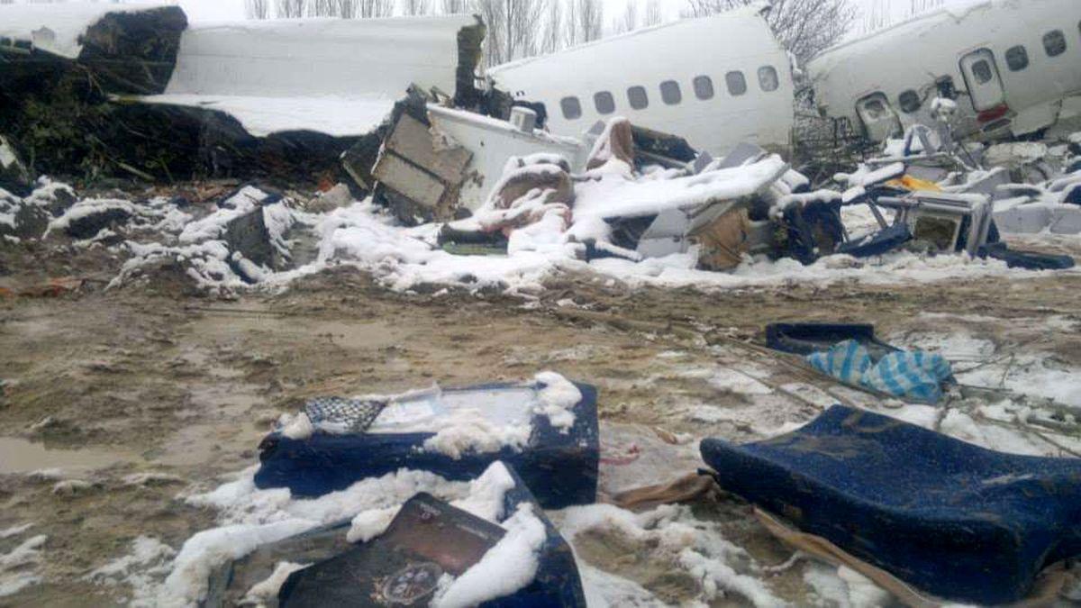 سقوط هواپیما جان هشت نفر را گرفت