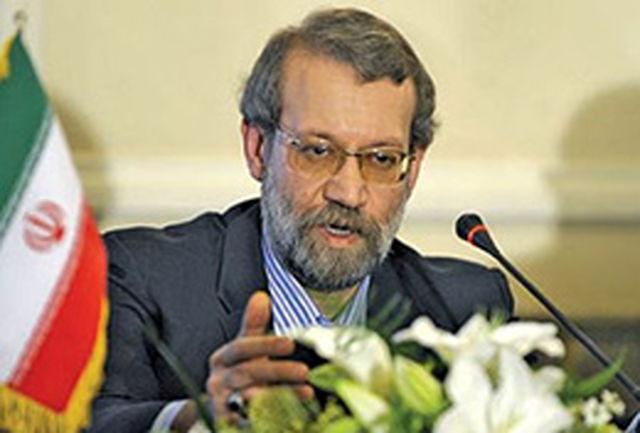 لاریجانی: امیدواریم با تدبر و فهم، شرایط مذاکرات سازنده فراهم شود
