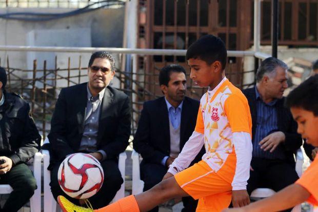 در شهرستان عنبرآباد انجام گرفت؛  افتتاح پایگاههای استعدادیابی هفتگانه باشگاه مس کرمان
