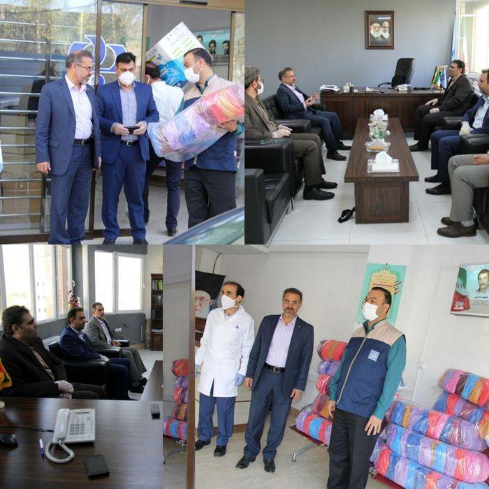 توزیع بیش از 500  بسته بهداشتی بانک رفاه لرستان  در کمیته امداد و بهزیستی