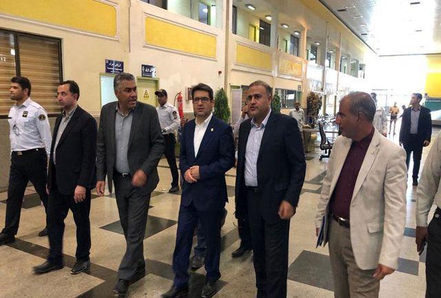 مدیرعامل سازمان بنادر و دریانوردی از بندر شهید باهنر بازدید کرد