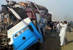 تصادف اتوبوس عزاداران حسینی 20 قربانی گرفت