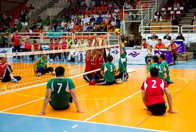 حریفان تیم ملی والیبال نشسته ایران در مسابقات جهانی معرفی شدند